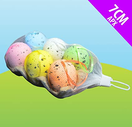 JayMark 6 huevos de Pascua en una caja de huevos ideal para decoraciones de Pascua,