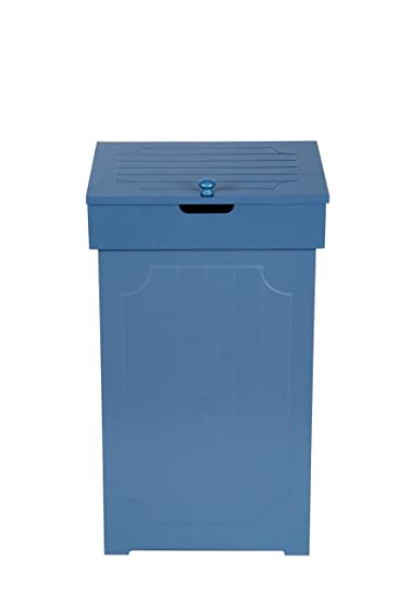Genial Home Like Kitchen Garbage Can With Lid Wood Country Trashcan Trash Bin  Kitchen Trash Can