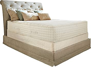 PlushBeds Botanical Bliss Organic Latex Mattress, Queen 10u201d Medium Firm,  Joma Wool
