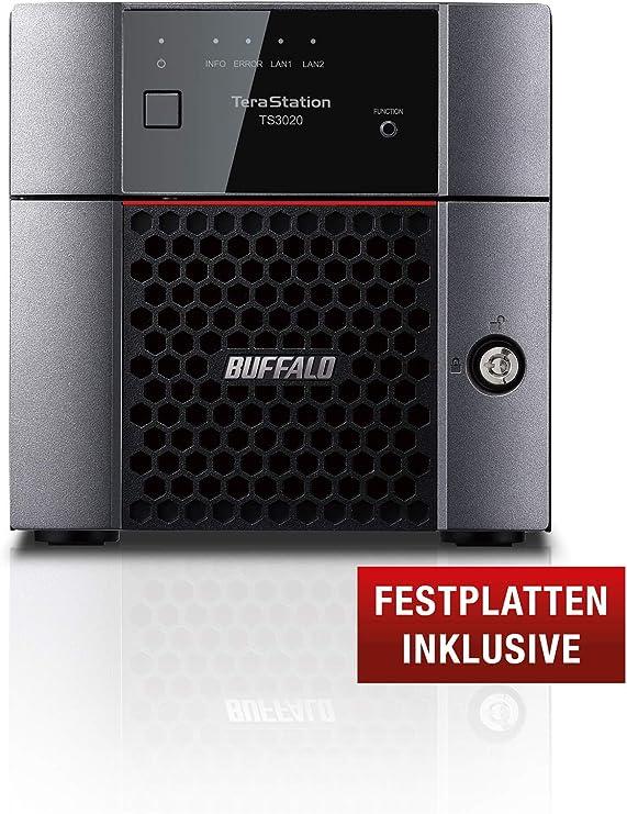 BUFFALO TeraStation 3220DN Ethernet Escritorio Negro NAS ...