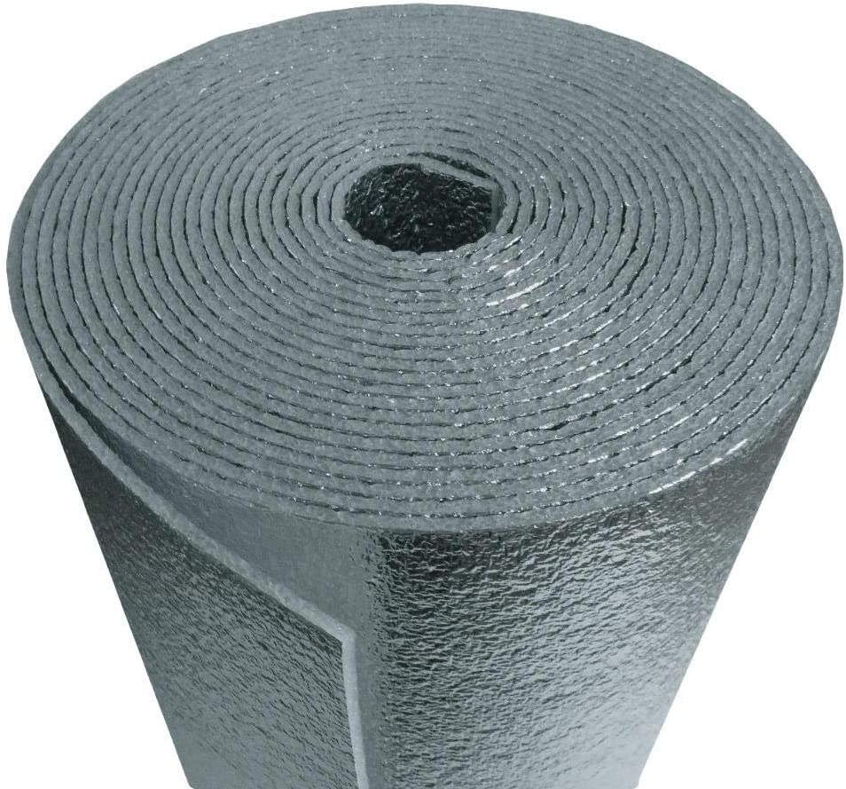 R 8 Hvac Duct Wrap Insulation Reflective 2 Sided Foam Core 4 X 25 100 Sq Ft Amazon Com