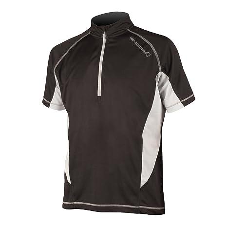 Amazon.com   Endura Cairn Short Sleeve Mens Cycling Jersey   Sports ... 95d8d6757