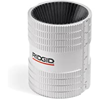 RIDGID 29983 223S Stainless Steel Pipe Reamer, 1/4-inch to 1-1/4-inch Inner/Outer Reamer Chrome Small