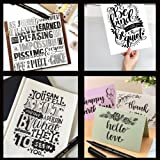 Calligraphy Brush Pens for Lettering - 4 Size
