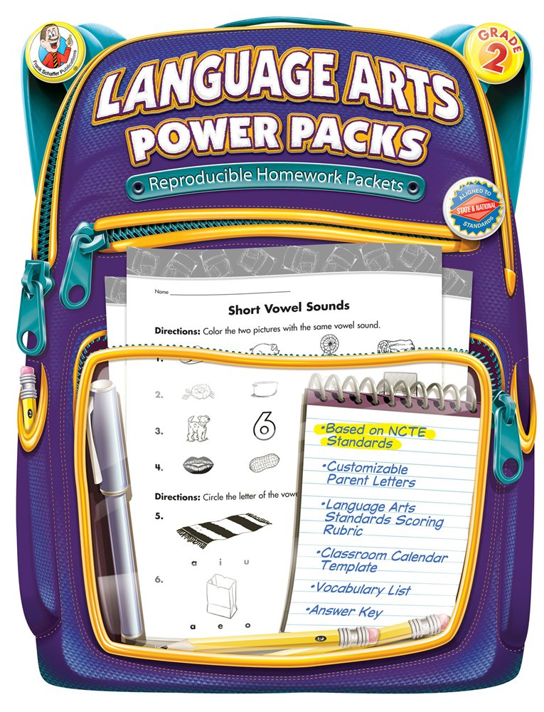 Download Language Arts Power Packs, Grade 2 pdf epub