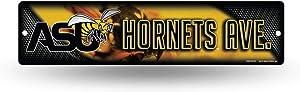 NCAA Alabama State Hornets 16-Inch Plastic Street Sign Décor