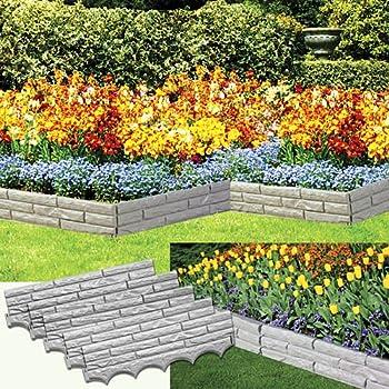 Amazon.com : Set of 4 Stone Pebble Garden Path Mats