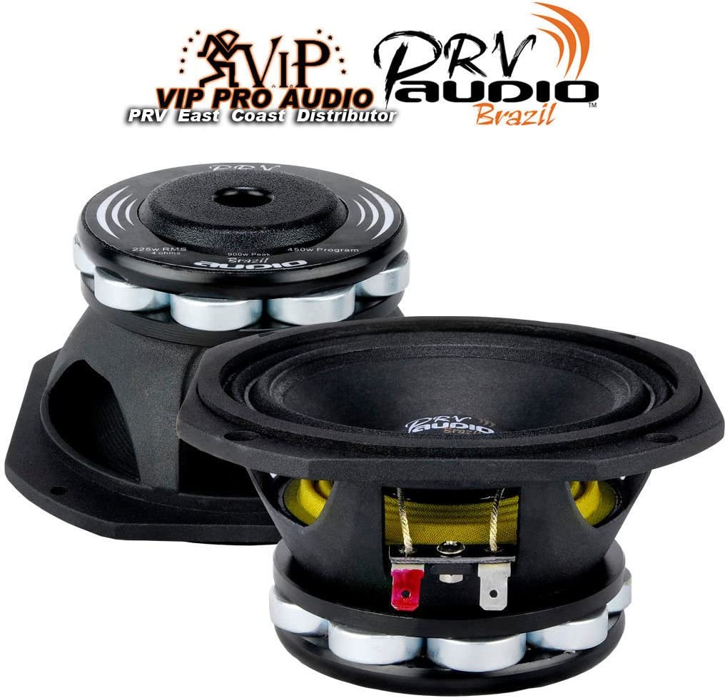 "PRV Audio 5MR450-NDY 5"" Midrange Neodymium Woofer 8 Ohm"