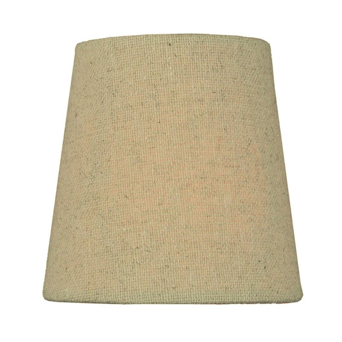 3x4x4 Chandelier Sand Linen Clip-On Lampshade By Home Concept - Perfect for chandeliers, foyer lights, and wall sconces - small, sand linen