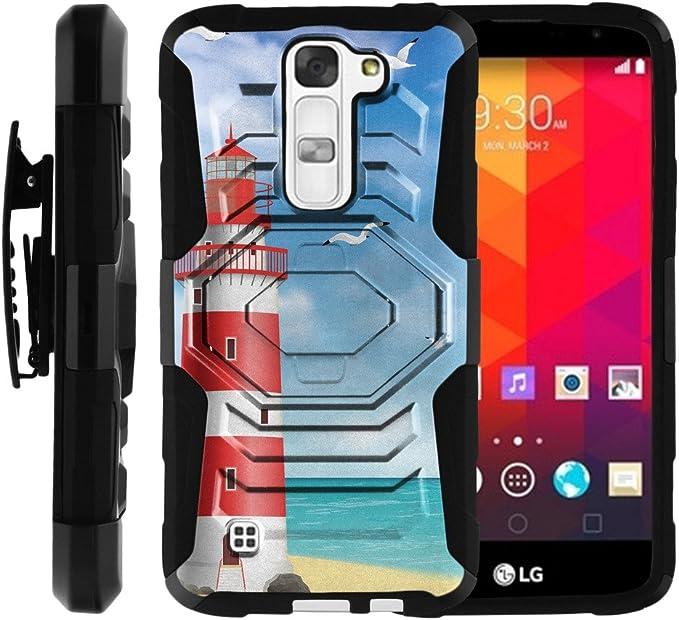 TurtleArmor - Carcasa para LG K8, Compatible con LG Escape 3, LG ...