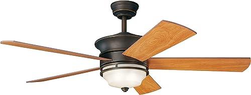 Kichler 300114OZ Ceiling Fan with Light
