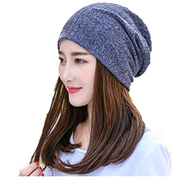 Amazon.com   Women s Chemo Caps Sleeping Hat ca32e1aaf38