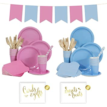Amazon Andaz Press Complete 140 Piece Baby Shower Gender Reveal