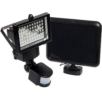60 led solar security light motion sensor flood light black 60 led solar security light motion sensor flood light black aloadofball Choice Image