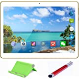 Teeno Tablette Tactile HD 10.1'' Blanc Doule SIM Double caméras + Stylet tactile et Support de tablette 1GB+16GB
