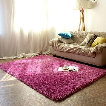 Amazon.de: Dickes Wohnzimmer Schlafzimmer Couchtisch Teppich ...