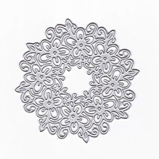 KIMODO DIY Plantilla para Troqueles de Corte de Metal de Alfabeto, para Album de Fotos Tarjetas de Papel Decorativas y Artesanía: Amazon.es: Hogar