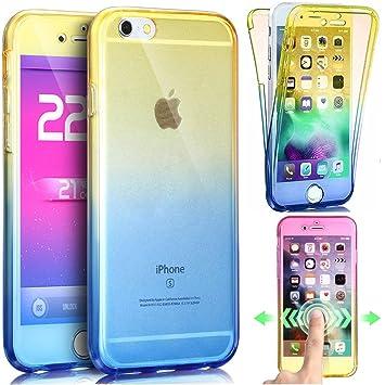 Ikasus® Carcasa para iPhone 6S Plus y 6 Plus, TPU ...