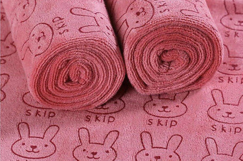 CUS Coniglio Morbido Microfibra Neonato Asciugamano Neonato Telo da Bagno Asciugamano da Bagno Asciugamano per Bambini Asciugamano per Bambini # 8 Beige