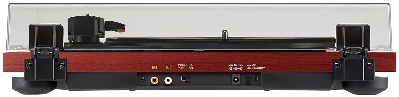 Riemenantrieb, 33//45//78 U//min, integrierter Phono-Vorverst/ärker, High-Density MDF-Geh/äuse CH Kirsche Teac TN-180BT Hifi Plattenspieler mit Bluetooth Sender f/ür Lautsprecher und Kopfh/örer