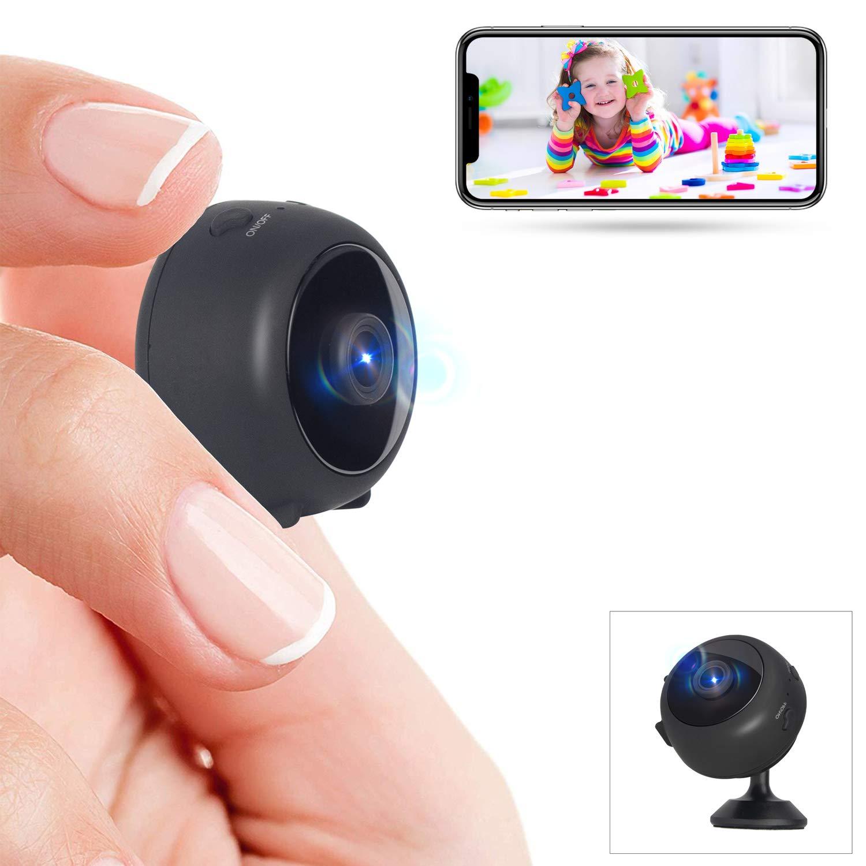 Mini Cámara Espía Full HD 1080P WiFi Videocámara Oculta Cámara de Vigilancia con Visión Noctura Detección de Movimiento Gran Angular iOS/Android product image