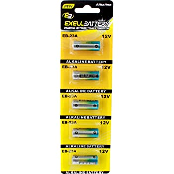 Amazon Com 5pc 5pk Eb 23a 12v Alkaline Battery Fits And