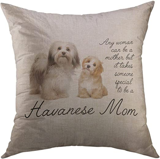 Poodle Dog Puppy Pup House Home Cushion Cover Pillow Case Great Gift