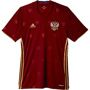 adidas Mens Soccer Russia Home Jersey