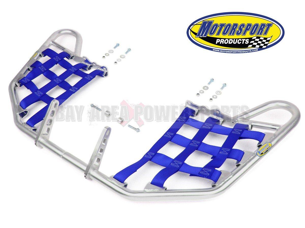 Suzuki LTR450 LTR 450 Quadracer Nerfbars Atv Nerf Bars Silver Bars/Blue Nets