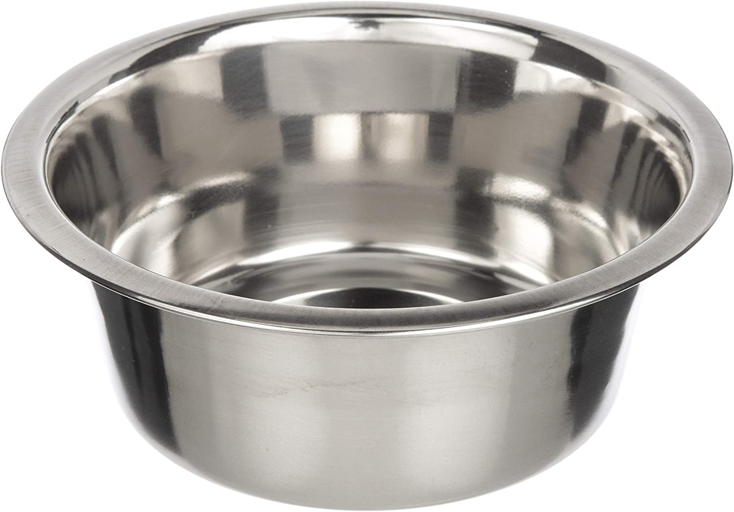 Neater Pet Brands Stainless Steel Dog and Cat Bowls - Neater Feeder Medium Deluxe Extra Replacement Bowl (Metal Food and Water Dish) (3.5 Cup)