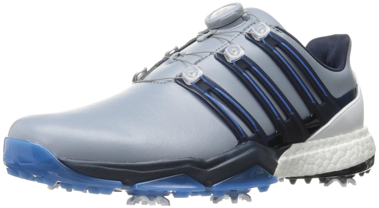 Adidasパワーバンドボアブーストゴルフシューズ 12 D(M) US グレー B01KLLXJ8C
