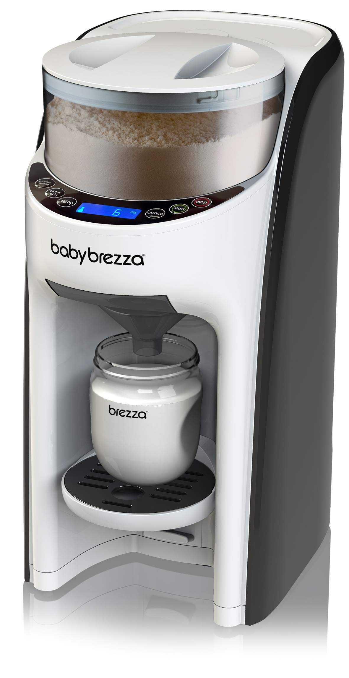 New and Improved Baby Brezza Formula Pro Advanced Formula Dispenser Machine - Automatically Mix a Warm Formula Bottle Instantly - Easily Make Bottle with Automatic Powder Blending by Baby Brezza (Image #2)