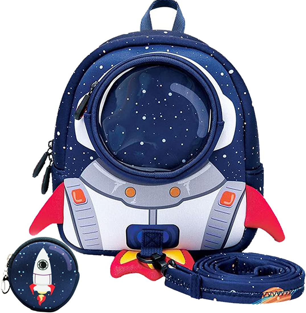 yisibo Kids Backpack with Safety Leash,Anti-lost Toddler Backpack for Boys Girls