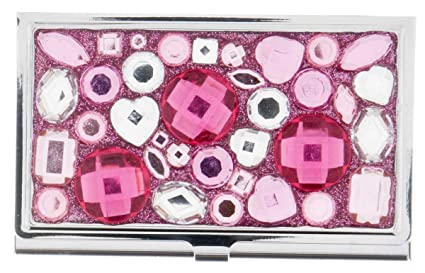 Amazon sparkle business card holder from ganz pink sparkle business card holder from ganz pink colourmoves