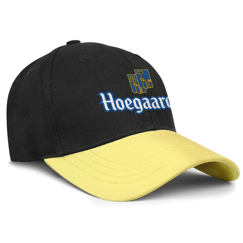 Adjustable Baseball Cap Casual Trucker Hat Cotton Trendcaps AbbottMacAdam Mens Hoegaarden-Witbier-Logo