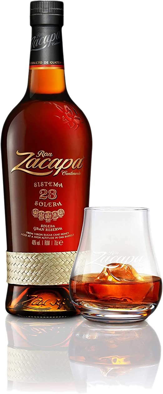 Ron Zacapa Centenario 23 Sistema Solera 703159 - Juego de 3 ...