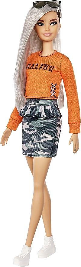 Amazon.es: Barbie Fashionista - Muñeca con falda de estampado ...
