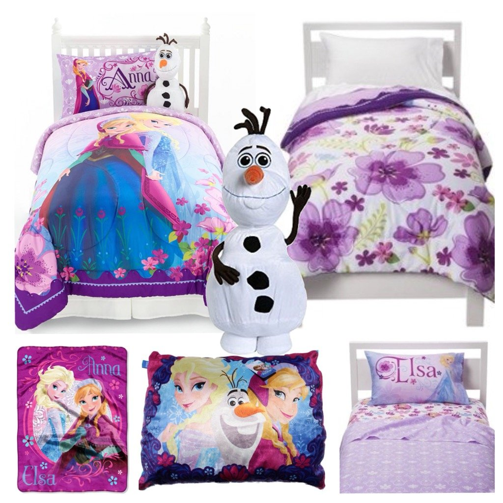 Disney Frozen Celebrate Love Ultimate 7 Piece Twin Bed in a Bag - Reversible Comforter, 3 Piece Sheet Set, Plush Pillow, Loving Sisters Throw & Olaf Cuddle Pillow