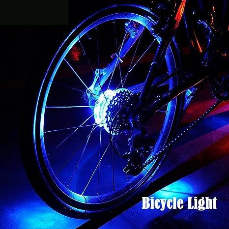 Hafiot Luz Bici Rueda Bicicleta, Ciclismo Bicleta Impermeable LED ...