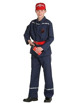 Disfraz Bombero niño - De 6 a 8 años: Amazon.es: Juguetes y juegos
