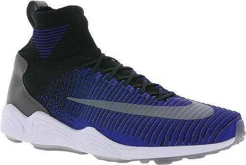 Nike Zoom Air Mercurial XI Flyknit Uomini Sneaker Blu 844626