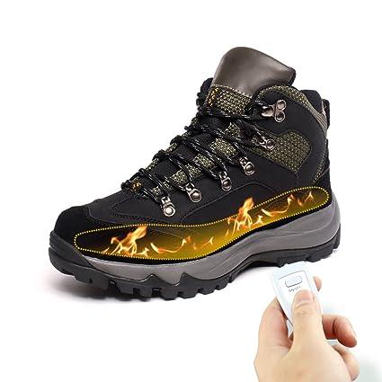6ecd0e8bcc0 Amazon.com  HMSPACES Men s Rechargeable Heated Warm Shoes