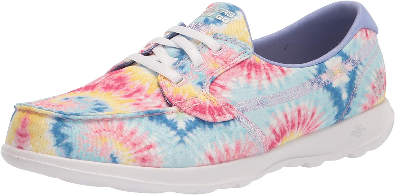 Skechers Women's Go Walk Lite Boat Tie Popular shop is Max 90% OFF the lowest price challenge Dye Shoe