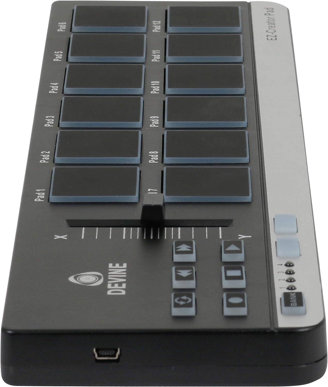 Controlador USB y MIDI Devine EZ-Creator Pad