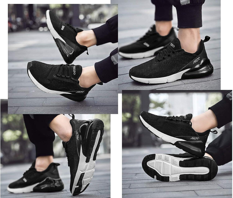 SINOES Femme Homme Coussin d Knit Trail Chaussures De Course 2019 L/éger Chaussures De Marche Athletic Sport en Plein Jogging Gym Entra/îneur Chaussures