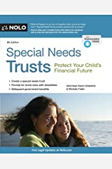 Special Needs Trusts: Protect Your Child's Financial Future Paperback