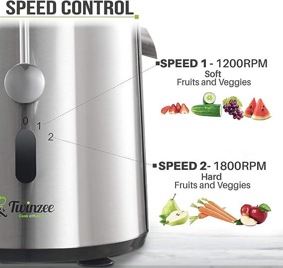 Licuadoras para Verduras y Frutas - Gran Potencia (850 W) y 2 ...