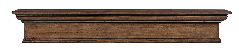 Pearl Mantels 420-72-15 Savannah Mantel Shelf Taos Finish 72-Inch