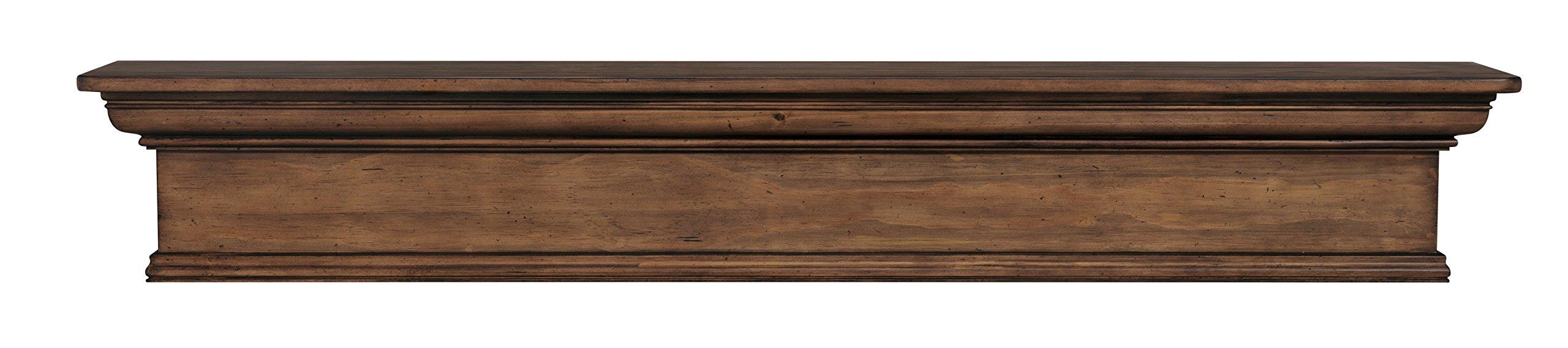 Pearl Mantels 420-72-15 Savannah Mantel Shelf, 72-Inch, Taos Finish by Pearl Mantels