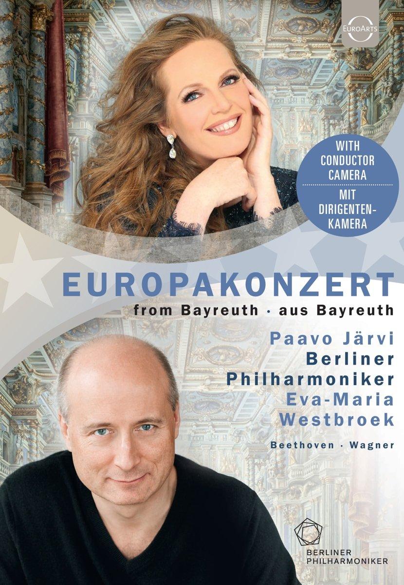 Blu-ray : BERLINER PHILHARMONIKER, PAAVO JARVI - Europakonzert 2018 - Berliner Philharmoniker (Blu-ray)